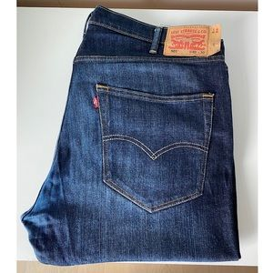 Levi's 501 straight jeans 40W 30L pre-owned